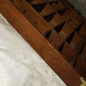 Accents - Vintage Wooden Nick Nack Shelf